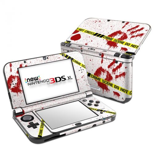 Crime Scene Revisited Nintendo 3DS XL (2015) Skin
