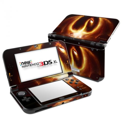 Fire Dragon Nintendo 3DS XL (2015) Skin