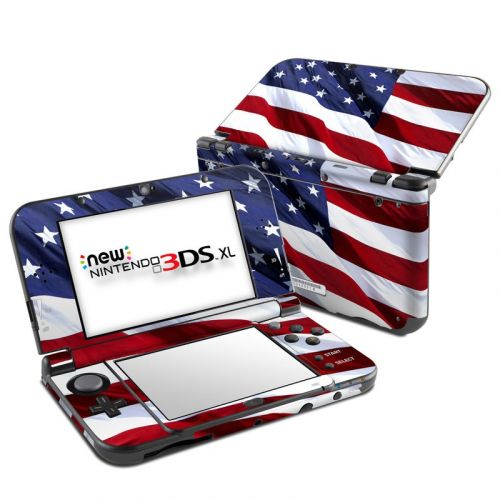 Patriotic Nintendo 3DS XL (2015) Skin