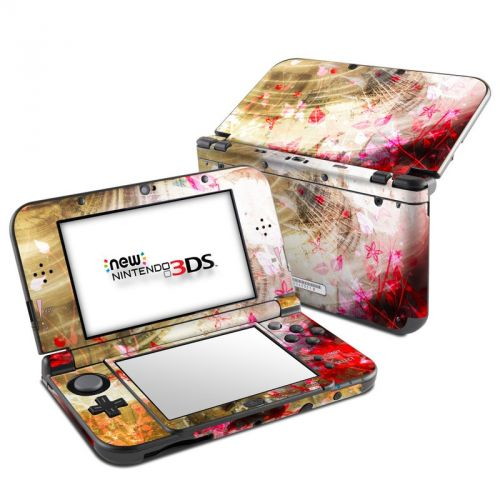 Woodflower Nintendo 3DS XL Skin
