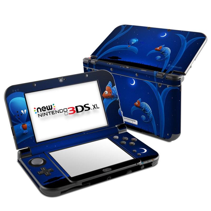 Alien and Chameleon Nintendo 3DS XL (2015) Skin
