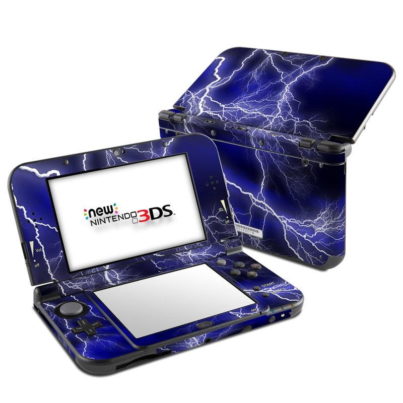 Apocalypse blue nintendo 3ds xl 2015 skin istyles for Housse 3ds xl pokemon