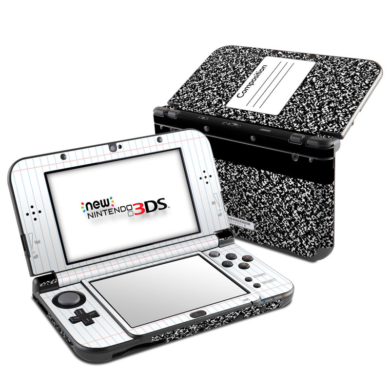 Composition Notebook Nintendo 3DS XL (2015) Skin