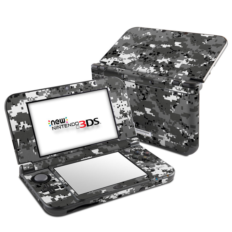 Digital Urban Camo Nintendo 3DS XL (2015) Skin