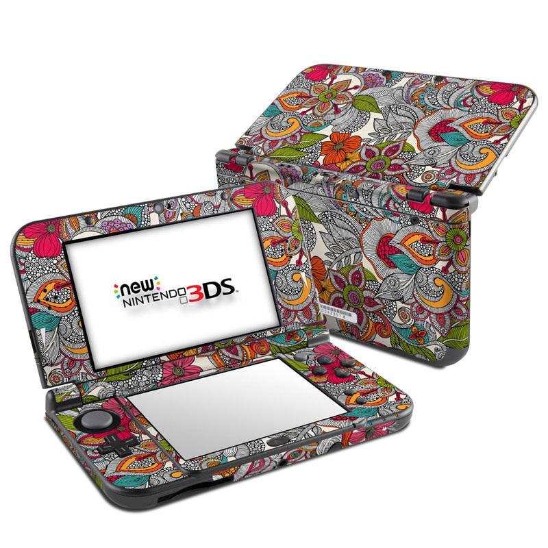 Doodles Color Nintendo 3DS XL (2015) Skin