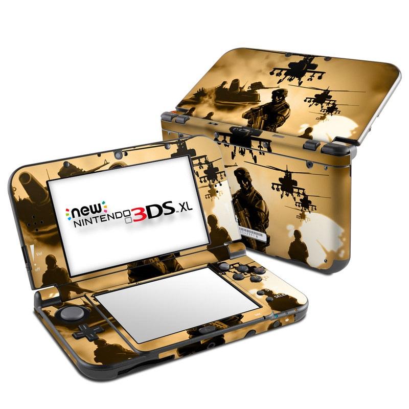 Desert Ops Nintendo 3DS XL (2015) Skin