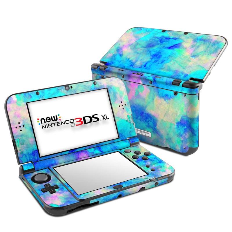 Electrify Ice Blue Nintendo 3DS XL (2015) Skin
