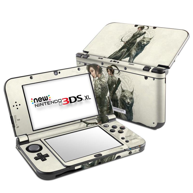 Half Elf Girl Nintendo 3DS XL (2015) Skin