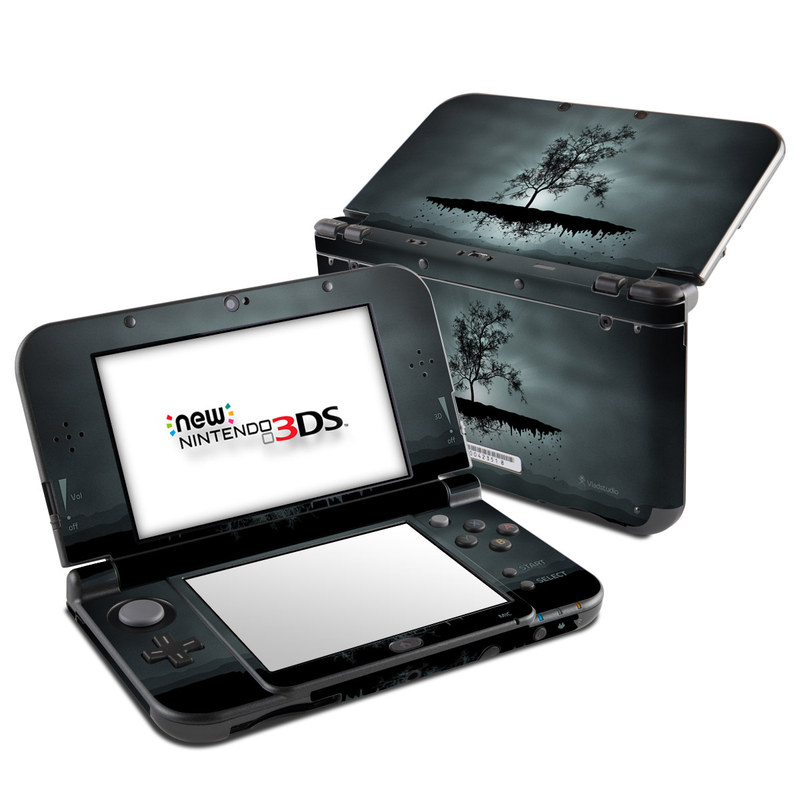 Flying Tree Black Nintendo 3DS XL (2015) Skin