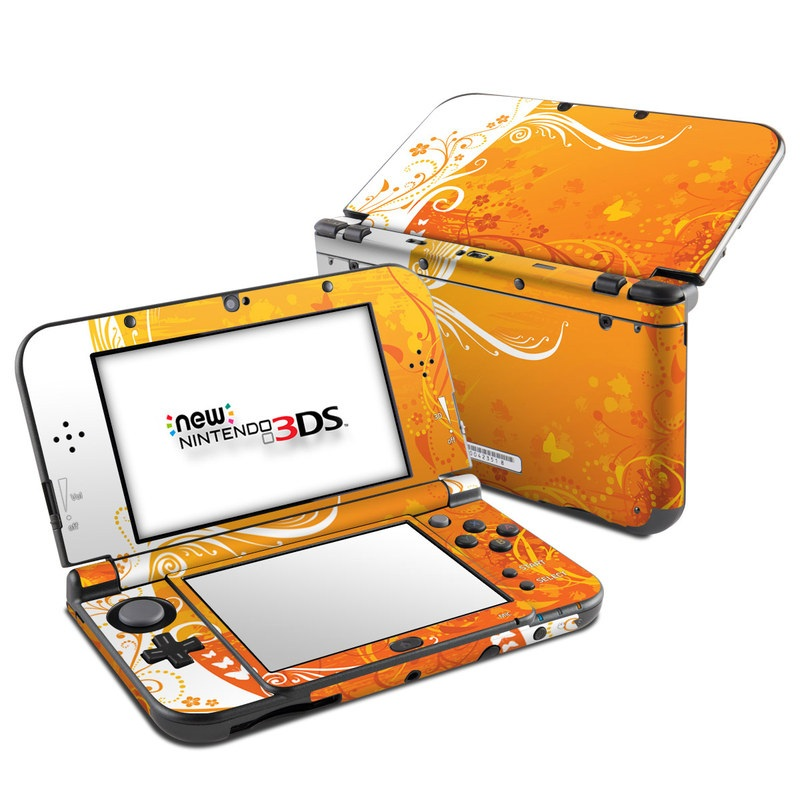 Orange Crush Nintendo 3DS XL (2015) Skin