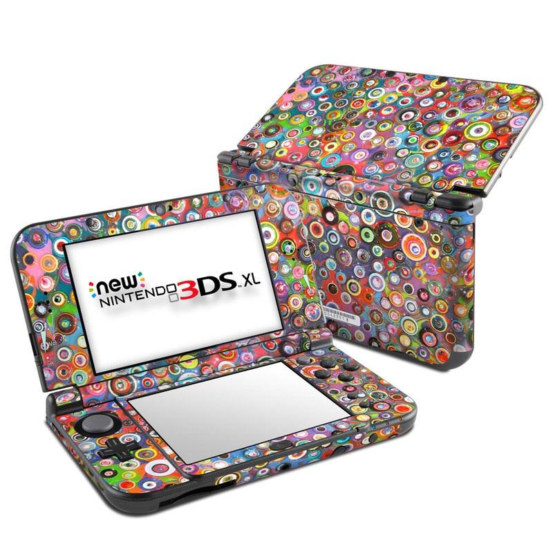 Round and Round Nintendo 3DS XL (2015) Skin