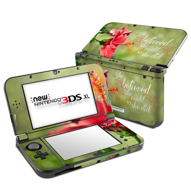 She Believed Nintendo 3DS XL (2015) Skin