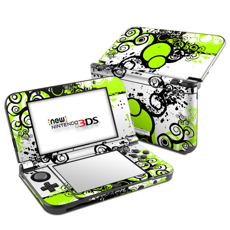 Simply Green Nintendo 3DS XL (2015) Skin