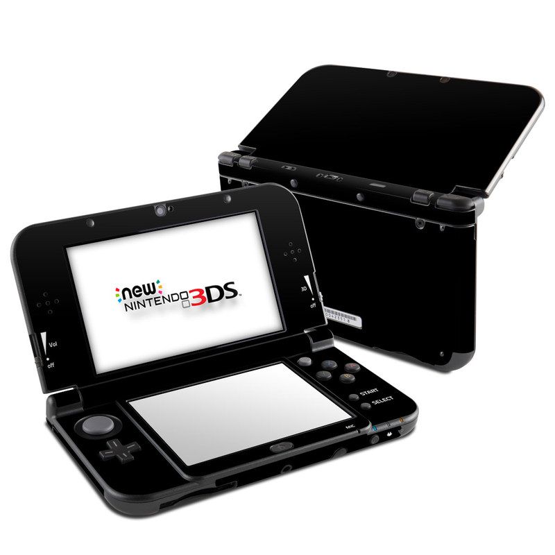 Solid State Black Nintendo 3DS XL (2015) Skin