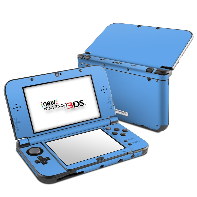 Solid State Blue Nintendo 3DS XL (2015) Skin