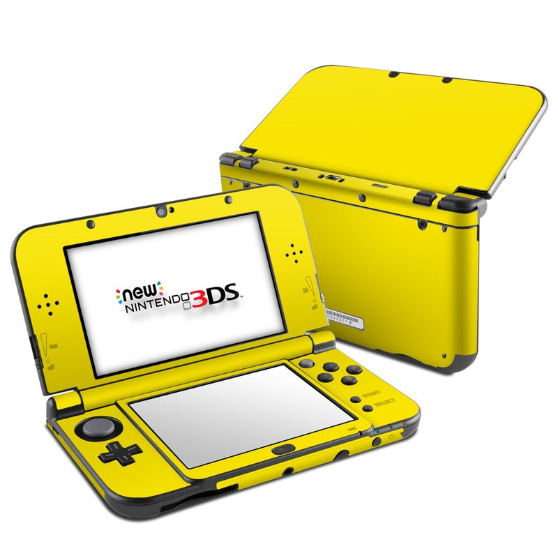 Solid State Yellow Nintendo 3DS XL (2015) Skin