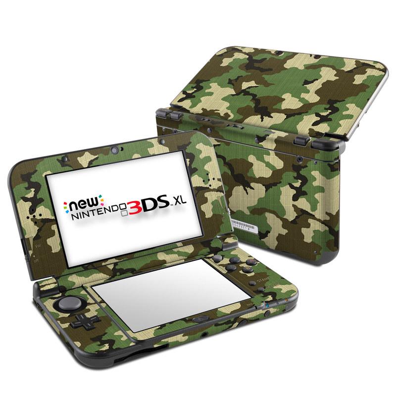 Woodland Camo Nintendo 3DS XL (2015) Skin