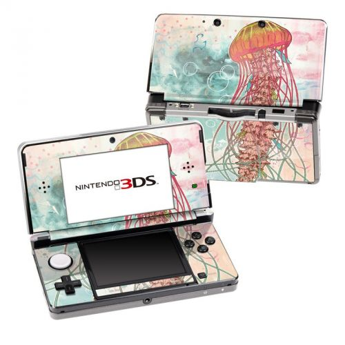 Jellyfish Nintendo 3DS (Original) Skin