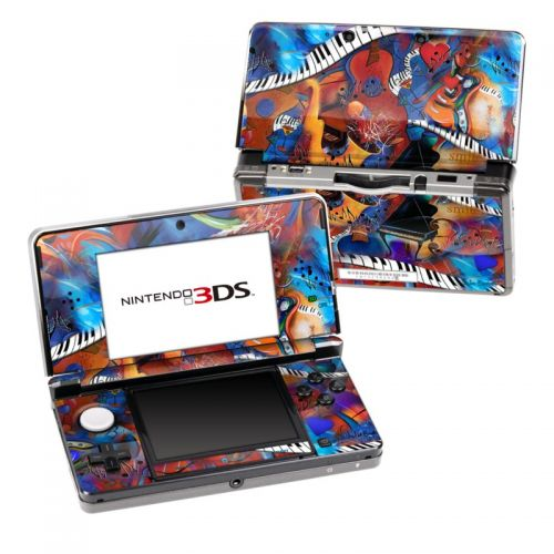 Music Madness Nintendo 3DS (Original) Skin