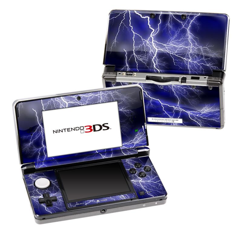 Apocalypse Blue Nintendo 3DS (Original) Skin