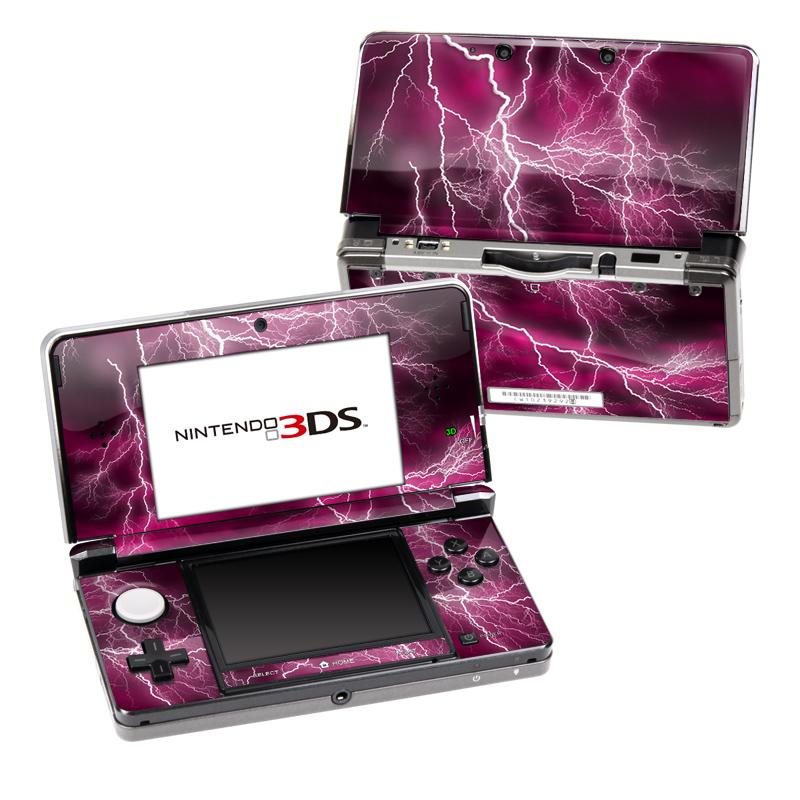 Apocalypse Pink Nintendo 3DS (Original) Skin