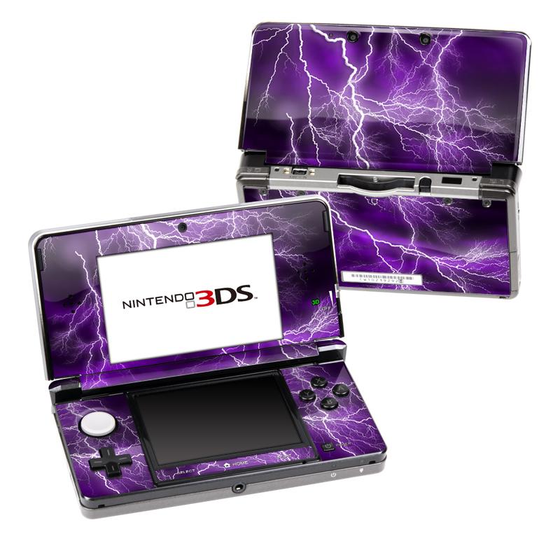 Apocalypse Violet Nintendo 3DS (Original) Skin