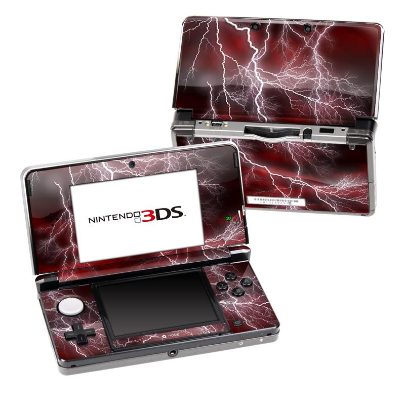 Apocalypse Red Nintendo 3DS (Original) Skin