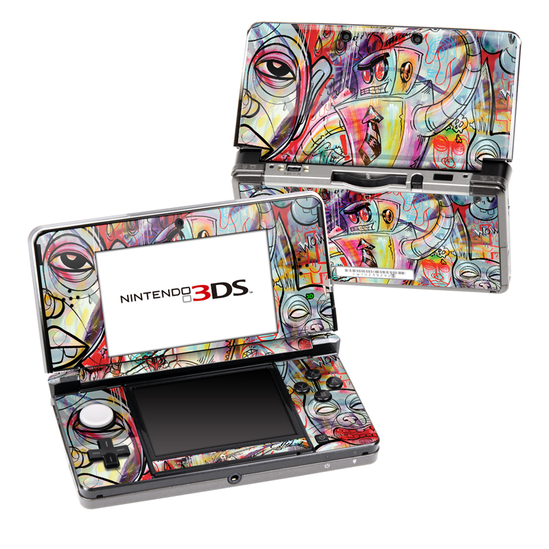 Battery Acid Meltdown Nintendo 3DS (Original) Skin
