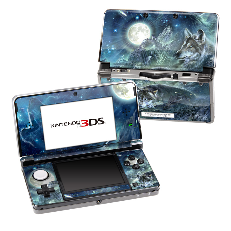 Bark At The Moon Nintendo 3DS (Original) Skin