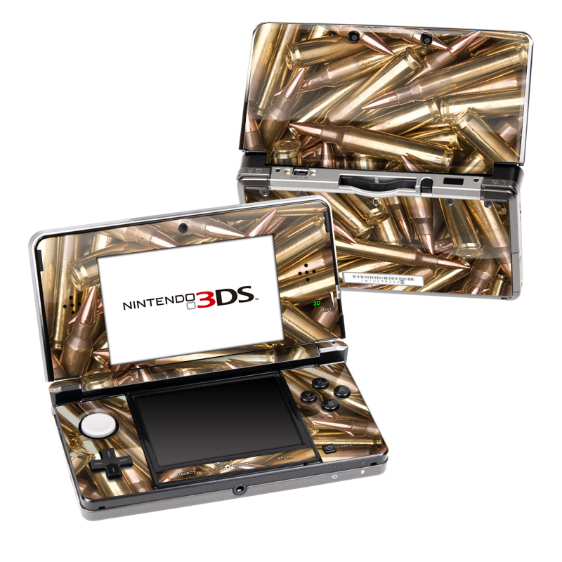 Bullets Nintendo 3DS (Original) Skin