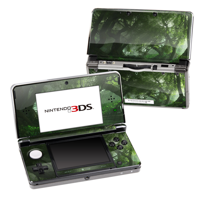 Canopy Creek Spring Nintendo 3DS (Original) Skin
