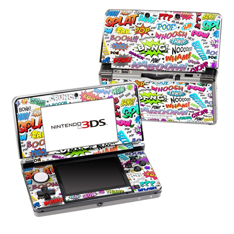 Comics Nintendo 3DS (Original) Skin