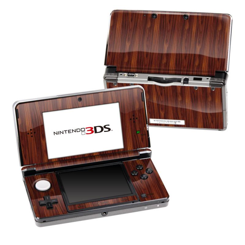 Dark Rosewood Nintendo 3DS (Original) Skin