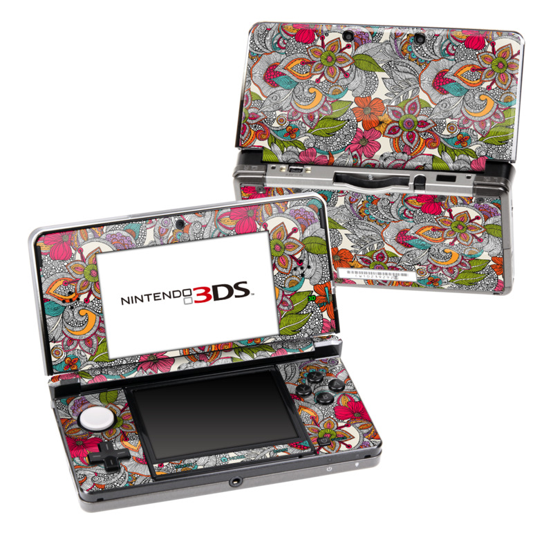 Doodles Color Nintendo 3DS (Original) Skin