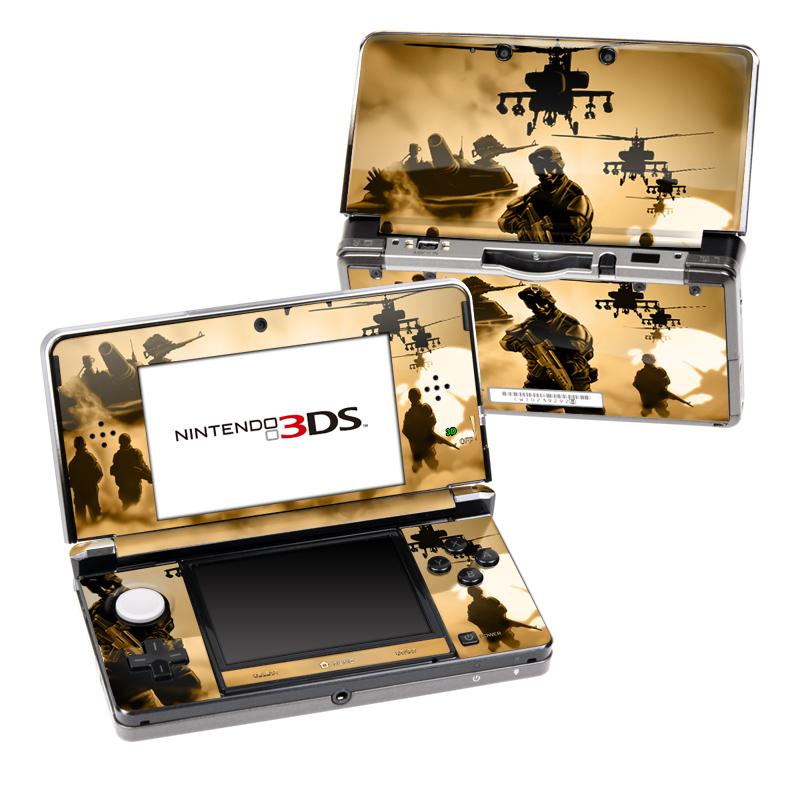 Desert Ops Nintendo 3DS Skin