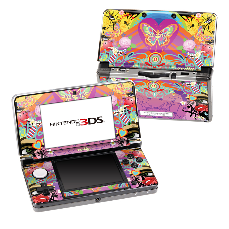 Ecstacy Nintendo 3DS Skin