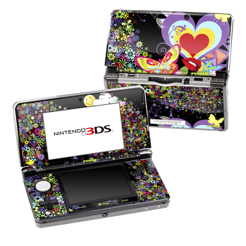 Flower Cloud Nintendo 3DS Skin