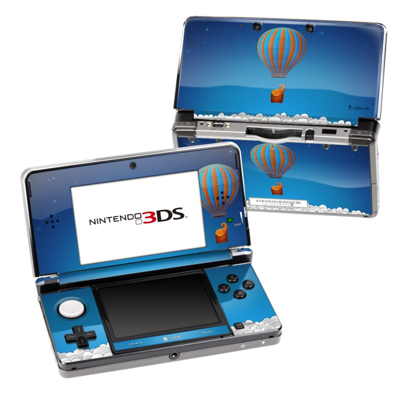 Flying Elephant Nintendo 3DS (Original) Skin