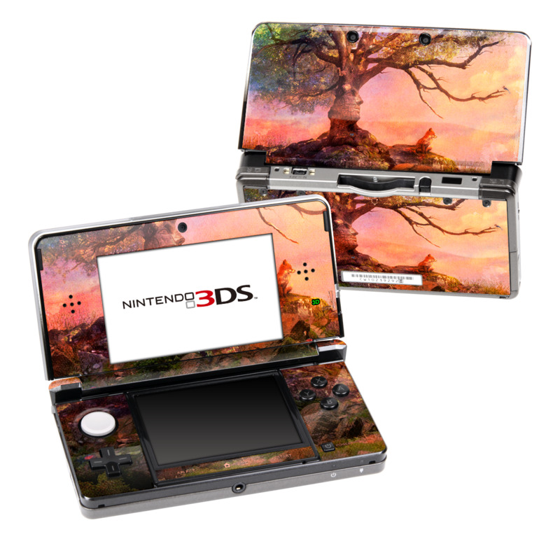 Fox Sunset Nintendo 3DS Skin