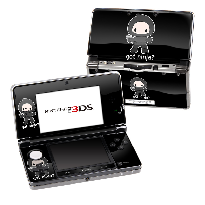 Got Ninja Nintendo 3DS (Original) Skin