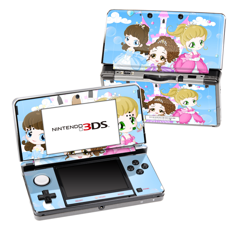 Little Princesses Nintendo 3DS (Original) Skin