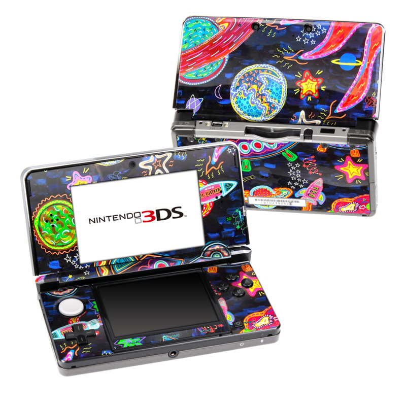 Out to Space Nintendo 3DS Skin