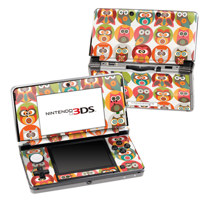Owls Family Nintendo 3DS (Original) Skin