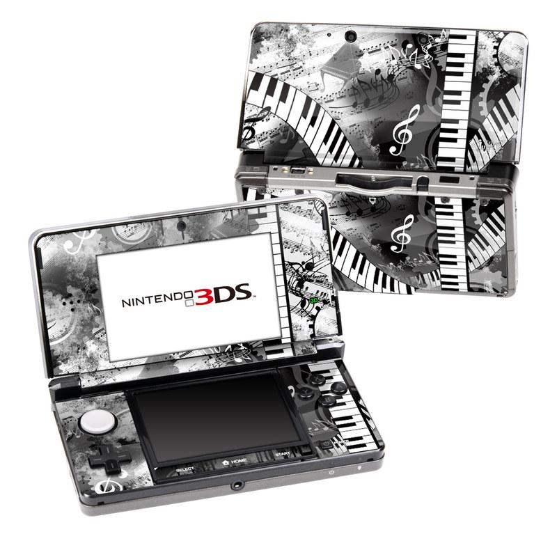 Piano Pizazz Nintendo 3DS (Original) Skin