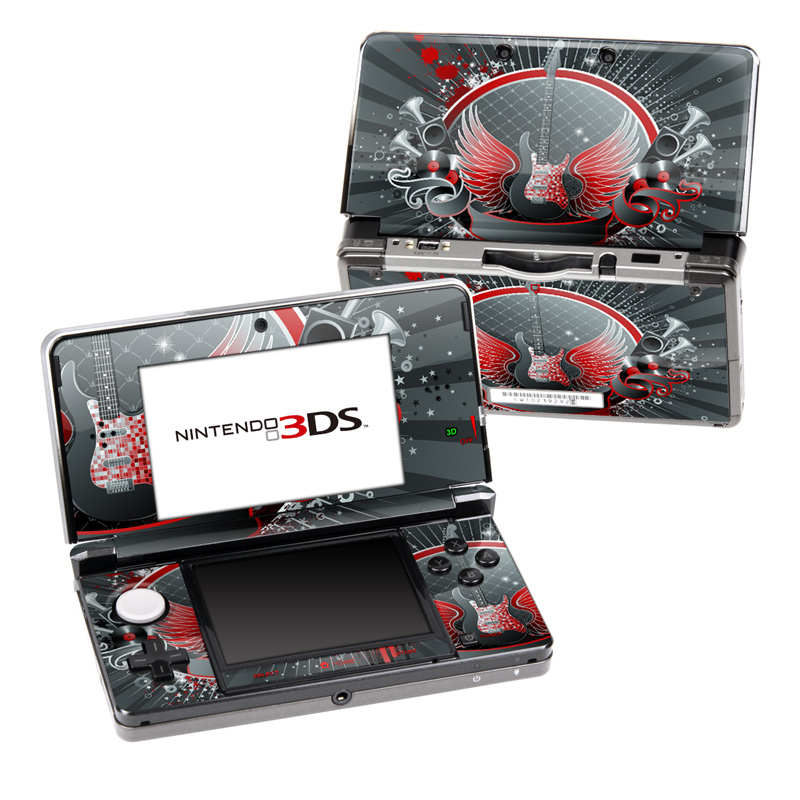 Rock Out Nintendo 3DS Skin