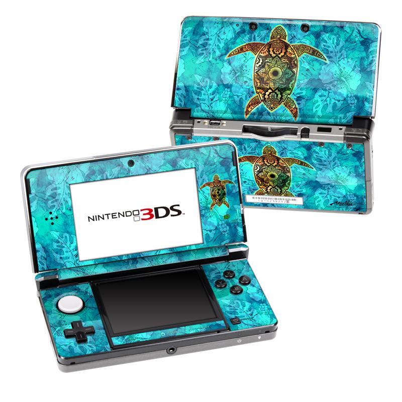 Sacred Honu Nintendo 3DS (Original) Skin
