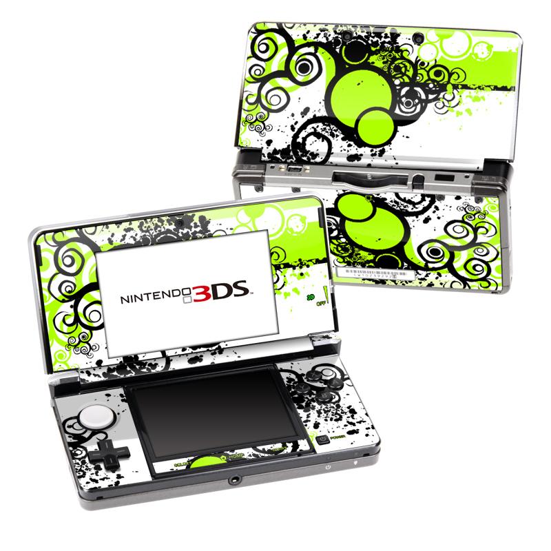 Simply Green Nintendo 3DS (Original) Skin