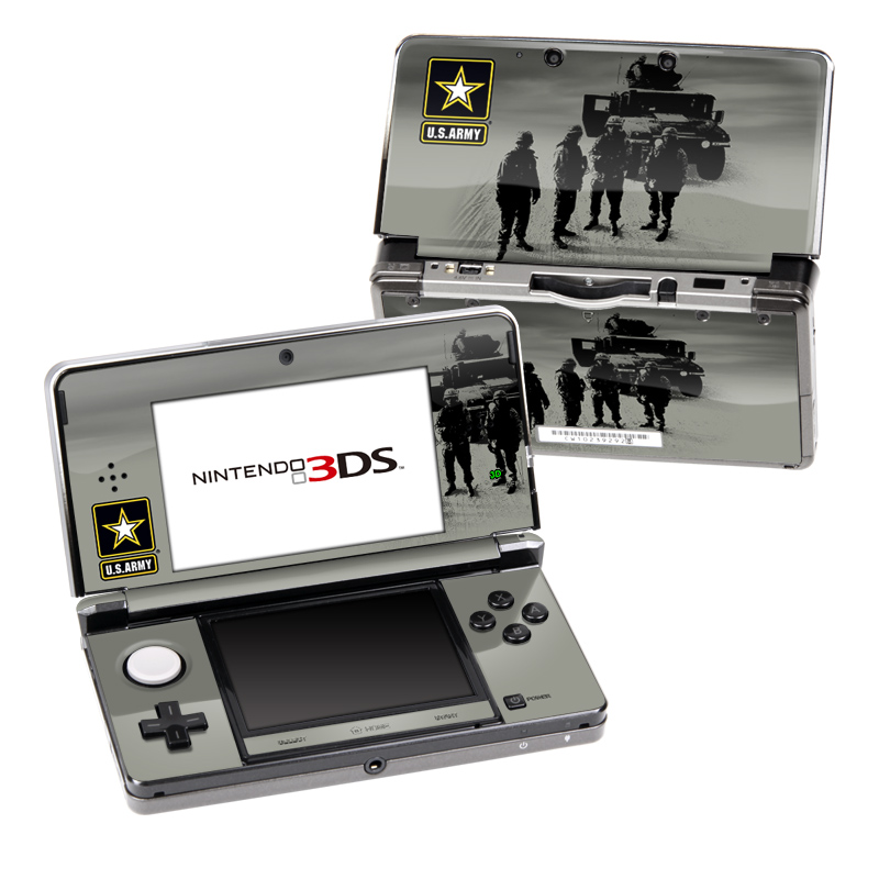 Soldiers All Nintendo 3DS (Original) Skin