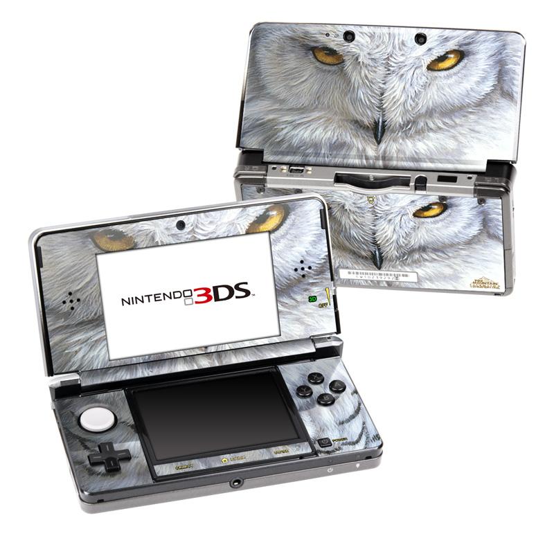 Snowy Owl Nintendo 3DS (Original) Skin