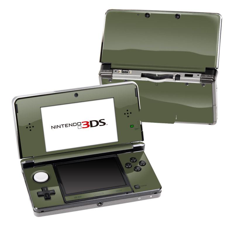 Solid State Olive Drab Nintendo 3DS (Original) Skin